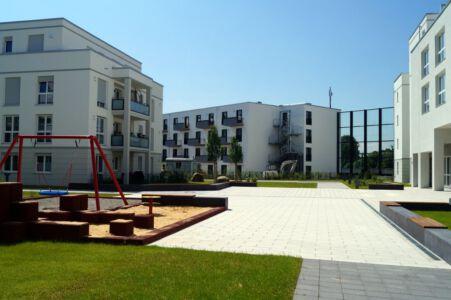Beethoven Park mit Studentenwohnungen