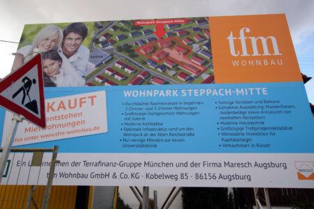 Wohnanlage, Steppach-Mitte (1)